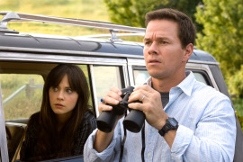 Zooey Deschanel and Mark Wahlberg in The Happening