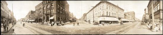 Pre-1892 downtown Davenport