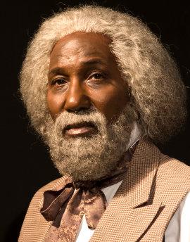 Mel Johnson Jr. as Frederick Douglass
