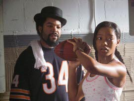 Ice Cube and Keke Palmer in The Longshots