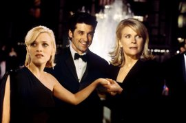 Reese Witherspoon, Patrick Dempsey, and Candice Bergen in Sweet Home Alabama