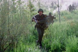 Chris Klein in We Were Soldiers