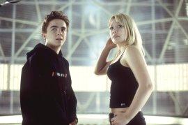 Frankie Muniz and Hilary Duff in Agent Cody Banks