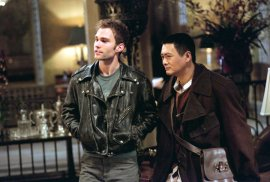 Seann William Scott and Chow Yun-Fat in Bulletproof Monk