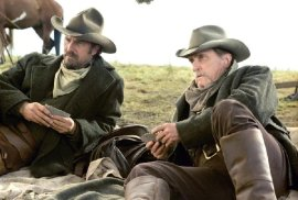 Kevin Costner and Robert Duvall in Open Range