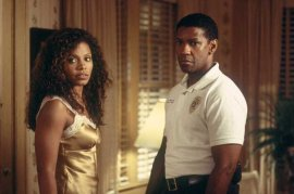 Sanaa Lathan and Denzel Washington in Out of Time