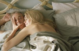 Bill Murray and Sharon Stone in Broken Flowers