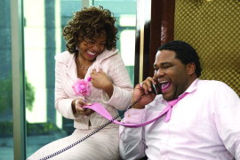 Regina Hall and Anthony Anderson in King's Ransom