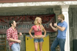 Johnny Knoxville, Jessica Simpson, and Seann William Scott in The Dukes of Hazzard