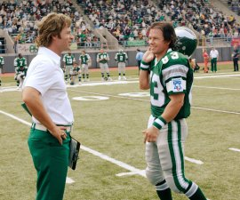Greg Kinnear and Mark Wahlberg in Invincible