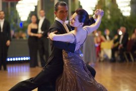 Antonio Banderas and Anna Dimitrie Melamed in Take the Lead