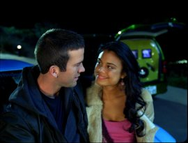Lucas Black and Nathalie Kelley in The Fast & the Furious: Tokyo Drift