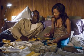 Tyrese Gibson and Meagan Good in Waist Deep