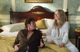 Richard Gere and Julie Delpy in The Hoax