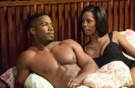 Michael Jai White and Tasha Smith in Tyler Perry's Why Did I Get Married?