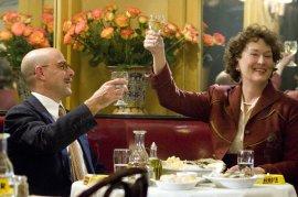 Stanley Tucci and Meryl Streep in Julie & Julia