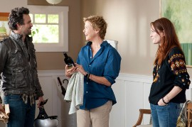 Mark Ruffalo, Annette Bening, and Julianne Moore in The Kids Are All Right
