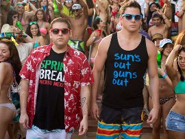 Jonah Hill and Channing Tatum in 22 Jump Street
