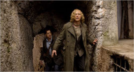 Brendan Fraser and Paul Bettany in Inkheart