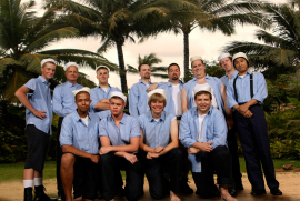 South Pacific ensemble performers