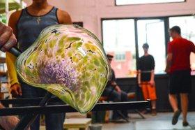 Hot Glass art, photo by Meghan McLaughlin