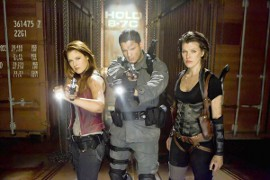 Ali Larter, Wentworth Miller, and Milla Jovovich in Resident Evil: Afterlife