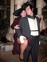 "Jaci Entwisle & Jack Kloppenborg in ""The Threepenny Opera"""