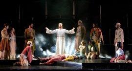the Jesus Christ Superstar ensemble
