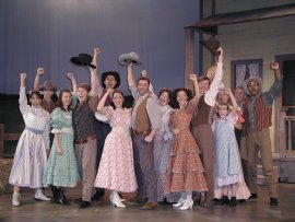 The Oklahoma! ensemble