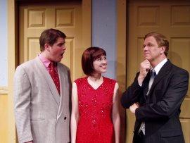 Joel Kolander, Melissa Anderson Clark, and Kevin Pieper