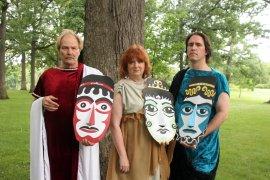 Boib Hanske, Patti Flaherty, and James J. Loula in Medea