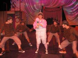 Jack Sweeney and ensemble members in Seussical
