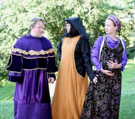 Bryan Woods, Susan Perrin-Sallak, and Grace Pheiffer in The Winter's Tale