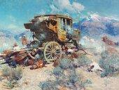 On the Salt Lake Trail by Frank Tenney Johnson