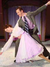 Erin Dickerson and Gabriel Beck in White Christmas