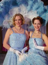 Amy Decker and Erin Dickerson in White Christmas