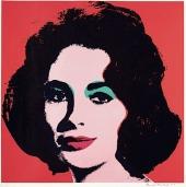 Andy Warhol's Elizabeth Taylor