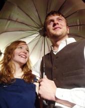 Nicole Freitag and Eddie Staver III in Carousel