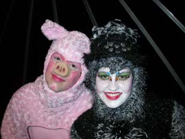 Ryan Westwood and Emily Christiansen in Charlotte's Web