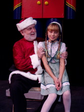 Gary Clark and Ally Zahringer in Miracle on 34th Street