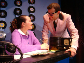 Jenny Stodd and Todd Meredith in Buddy: The Buddy Holly Story