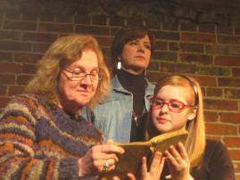 Susan McPeters, Angela Elliott, and Abby VanGerpen in Eleemosynary