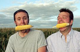 Ian Cheney and Curt Ellis in King Corn