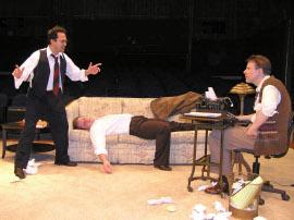 Jason Platt, Chris White, and Don Faust in Moonlight & Magnolias