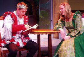 Joe Urbaitis and Heather McGonigle in Once Upon a Mattress