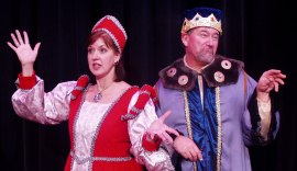Valeree Pieper and Greg Golz in Once Upon a Mattress