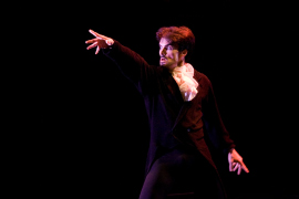 Domingo Rubio in Ballet Quad Cities' Dracula