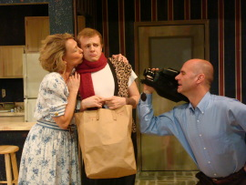 Vrenda Lee, Tristan Layne Tapscott, and Brad Hauskins in Empty Nest