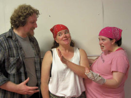 Aaron Sullivan, Denise Yoder, and Jaci Entwisle