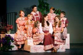 Liz Millea's Maria and the von Trapp children